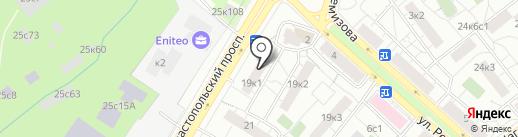 МГСА, Московский городской союз автомобилистов на карте Москвы