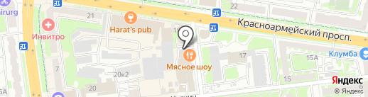 Институт Здоровья на карте Тулы