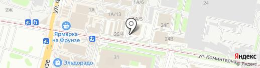 Perrino на карте Тулы