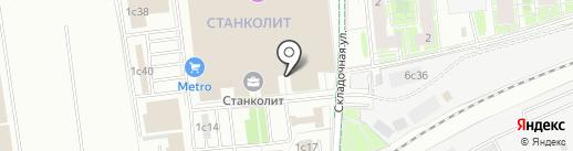 ВЫМПЕЛЬНАЯ ДОСТАВКА на карте Москвы