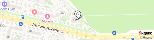 Ваш на карте Бутово