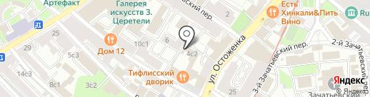 Посольство Сирийской Арабской Республики в г. Москве на карте Москвы