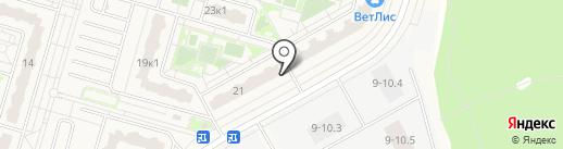Стройхозмаркет на карте Дрожжино