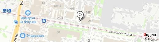 АлексЕл на карте Тулы