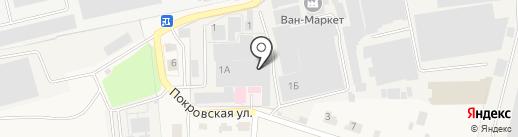 Лотос на карте Подольска