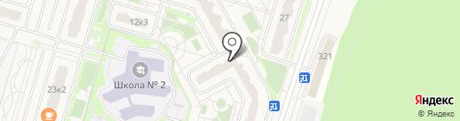 Мортон Комфорт на карте Дрожжино