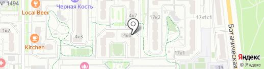 Марфа на карте Москвы