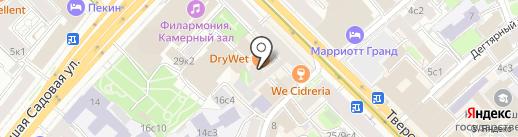 Жилищник района Тверской, ГБУ на карте Москвы