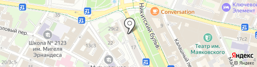 TheForm на карте Москвы