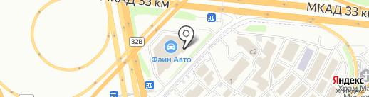 Тюнинг-Пикап на карте Москвы