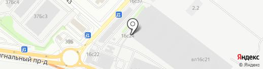 Owncar на карте Москвы