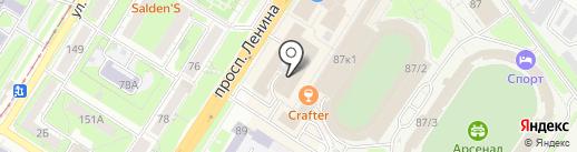 МедиЛюкс+ на карте Тулы