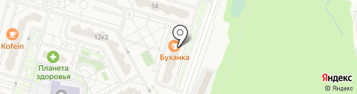 Бутово Парк 2Б на карте Дрожжино