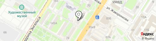 ЭПИЦЕНТР на карте Тулы