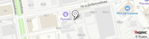 Сити Уют на карте Москвы
