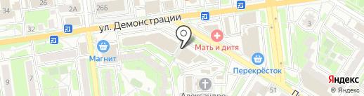 Кирпич Холдинг на карте Тулы