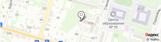 SPAR на карте Тулы