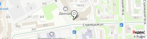КБ Ренессанс кредит на карте Москвы