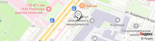 Гильдия специалистов в области информатики и управления документацией на карте Москвы
