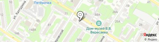 Платежный терминал, Московский кредитный банк на карте Тулы