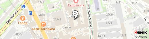 ВнешТоргСервис на карте Москвы