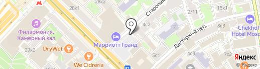 ВАШ АДВОКАТ на карте Москвы
