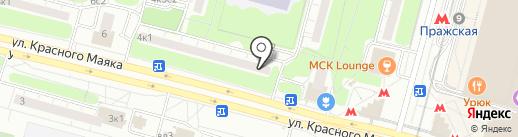 РОСАптека на карте Москвы