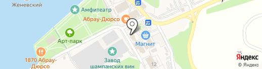 Инфоцентр на карте Новороссийска