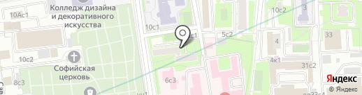 Merlin на карте Москвы