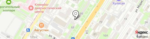 Сеть ортопедических салонов на карте Тулы