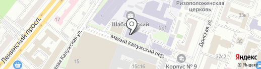 Киносоль на карте Москвы