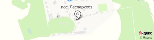 Моспитомник на карте Бутово