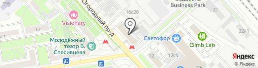 ОфСерт на карте Москвы