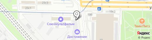 Хинкали Gали на карте Москвы