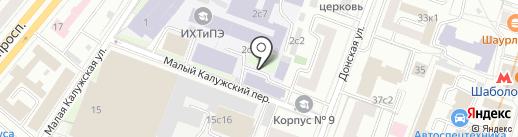 Newtonekinder на карте Москвы