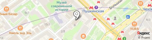 ЛесВода на карте Москвы