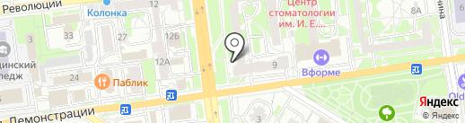 Flor2U.ru на карте Тулы