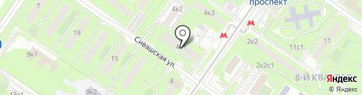 ТИАН на карте Москвы