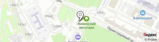 Джи-Эн-Эн на карте Москвы
