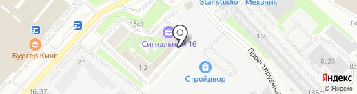 Арболит на карте Москвы