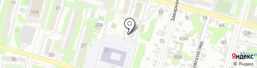 ВЛстрой на карте Тулы