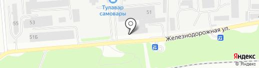 Арена71 на карте Тулы