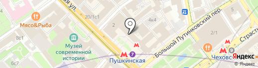 Адвокат Милюков А.А. на карте Москвы