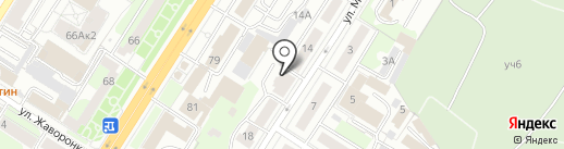 Главное бюро медико-социальной экспертизы по Тульской области, ФКУ на карте Тулы