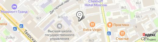 CODDY на карте Москвы