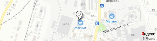Магазин сантехники и систем отопления на карте Тулы