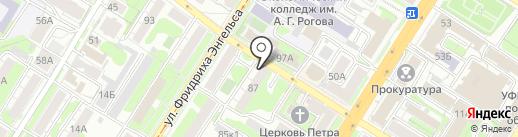 Центр подготовки документов на карте Тулы