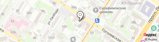 ЖЭУ №4 на карте Тулы