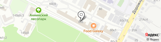 Mustang gym на карте Москвы