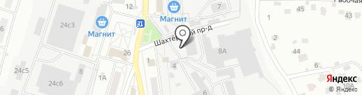 ПИОН на карте Тулы
